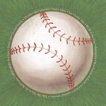 Adornit Jumbo Baseball Scrapbook Paper